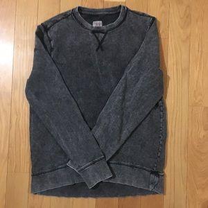 Grey crew neck sweatshirt M